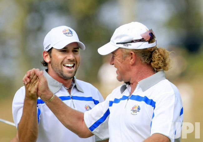Ryder Cup-Garcia and Jimenez