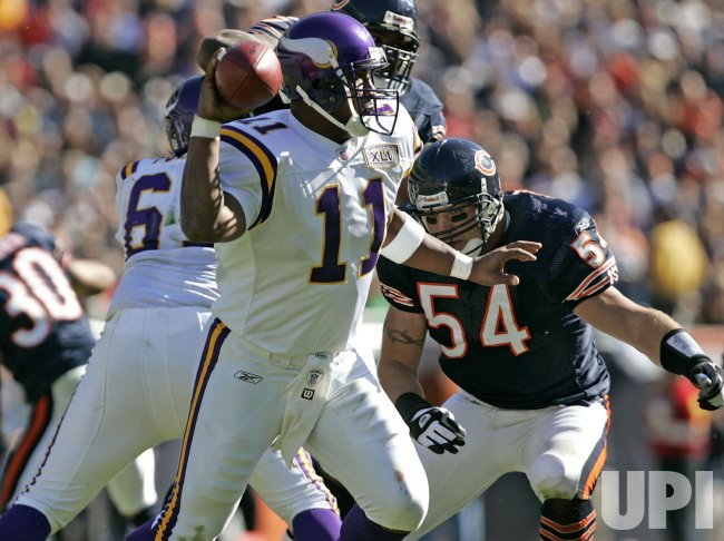 NFL VIKINGS AT BEARS