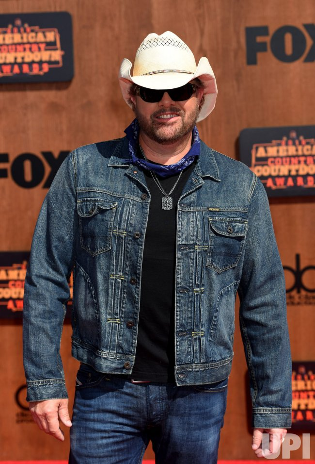 Singer Toby Keith attends the American Country Countdown Awards in Inglewood, Calif.