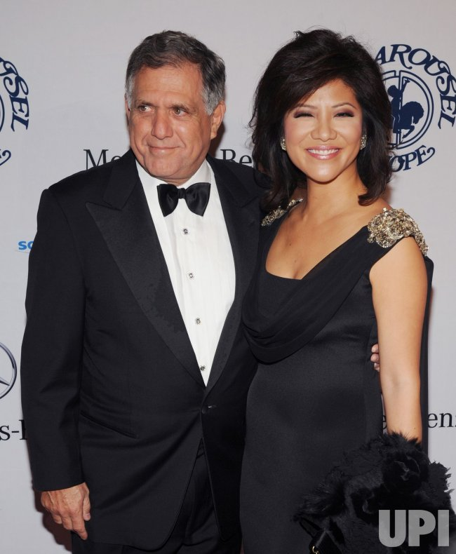 Les Moonves and Julie Chen attend the 32nd anniversary Carousel of Hope Ball in Beverly Hills