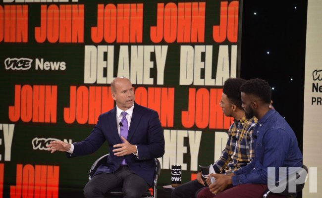 Democratic candidate John Delaney attends Brown & Black Presidential Forum in Iowa