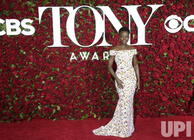 Lupita Nyong'o at the 70th Annual Tony Awards