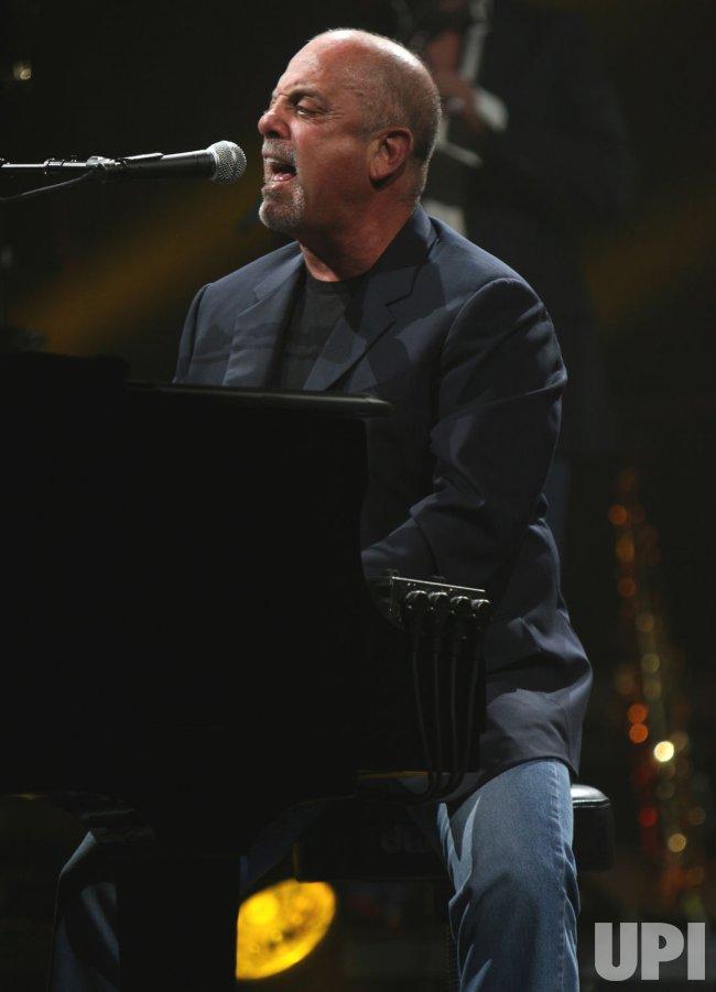 Billy Joel in concert in Las Vegas