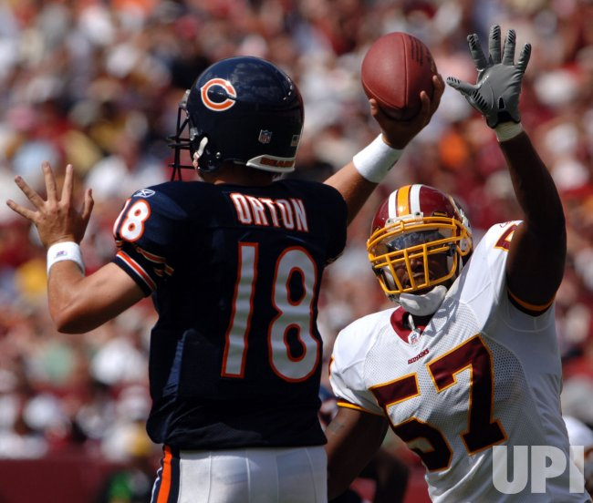 CHICAGO BEARS VS WASHINGTON REDSKINS