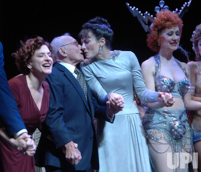 "Patti Lupone opens in Broadway musical revival of ""Gypsy"" in New York"