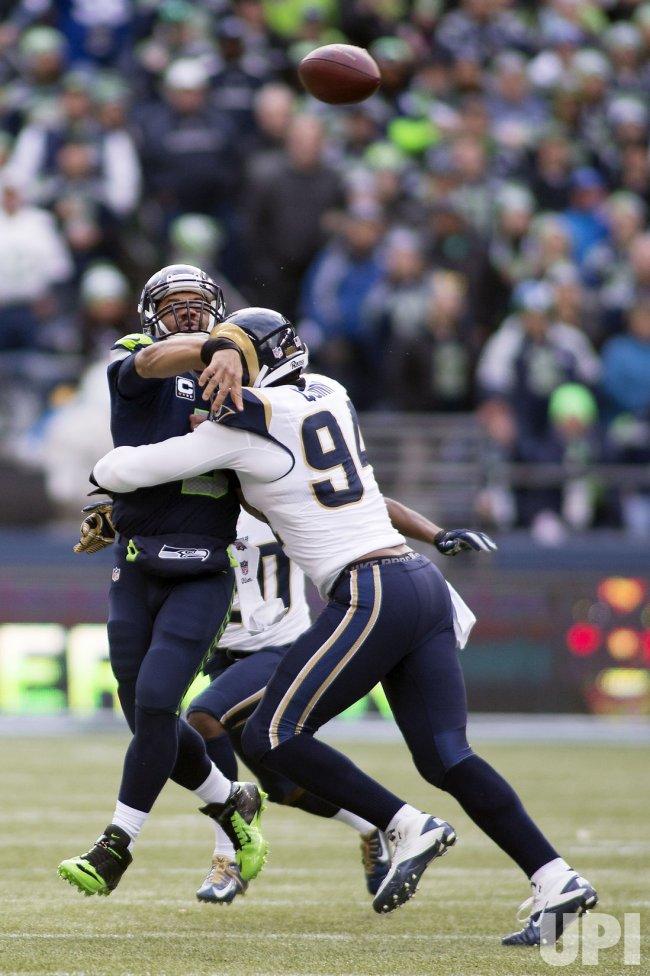 Seattle Seahawks beat the St. Louis Rams 20-6 in Seattle