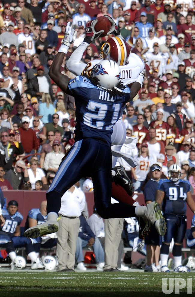 WASHINGTON REDSKINS VS TENNESSEE TITANS