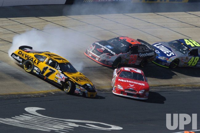 MATT KENSETH SPINS