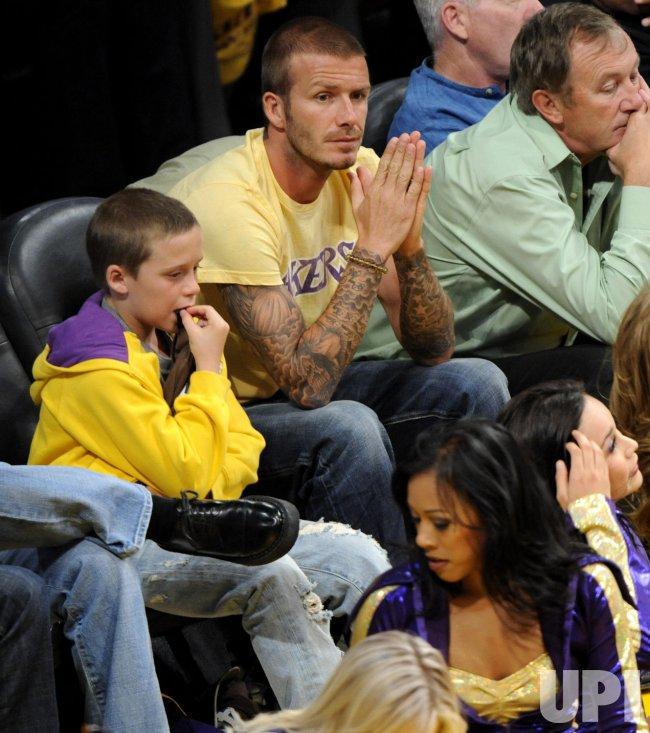 Los Angeles Lakers vs San Antonio Spurs Game 1 Western Conference finals in Los Angeles
