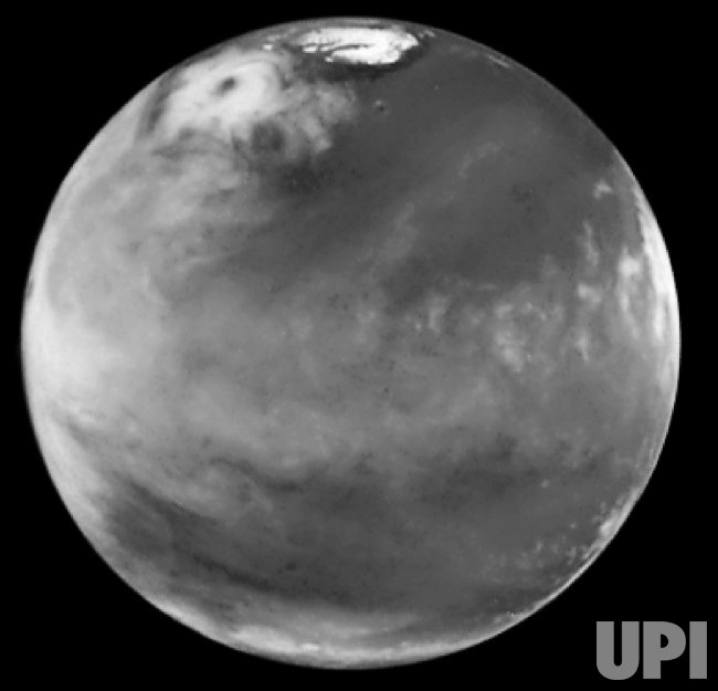 Scientists find huge ice storm on Mars