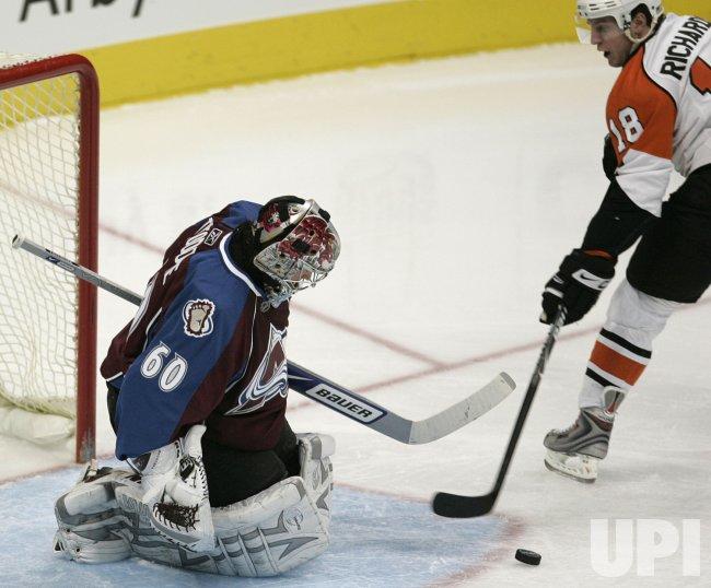 Philadelphia Flyers vs Colorado Avalanche