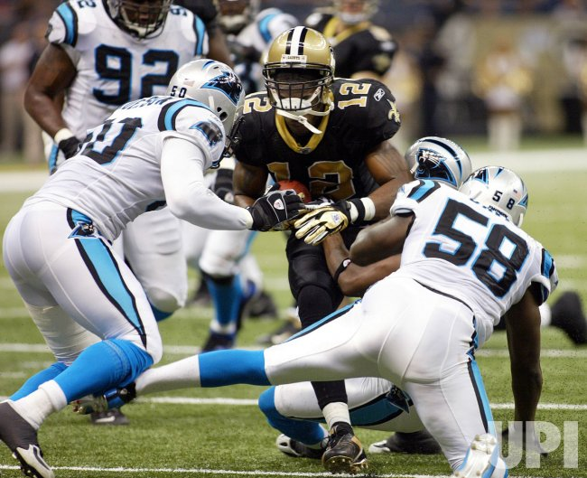 NFL Football New Orleans Saints vs Carolina Panthers
