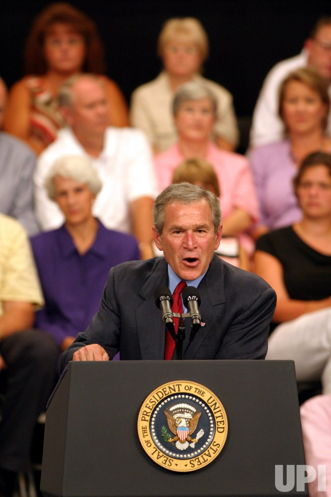 President Bush Discusses Central American Free Trade Agreement In