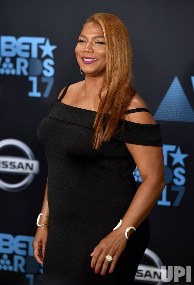 Queen Latifah attends the annual BET Awards in Los Angeles