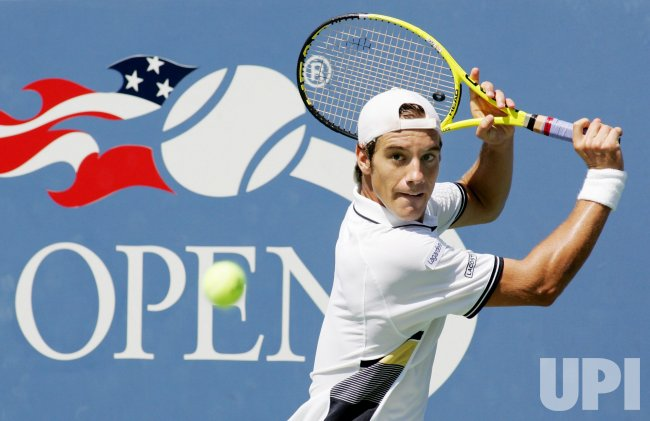 Richard Gasquet and Gael Monfils compete at the U.S. Open in New York