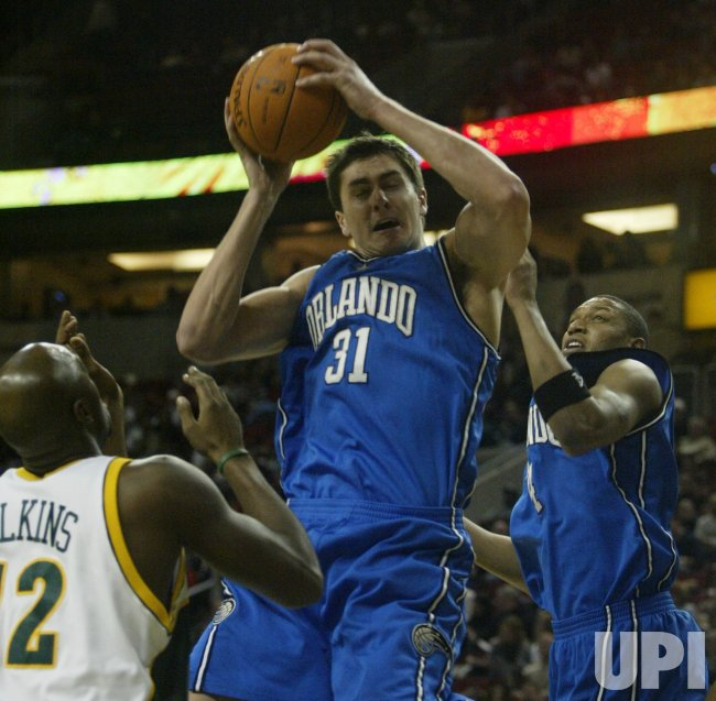 ORLANDO MAGIC VS SEATTLE SUPERSONICS