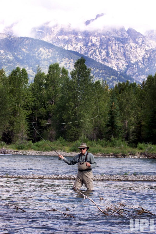 Cheney fishes in Wyoming - UPI.com