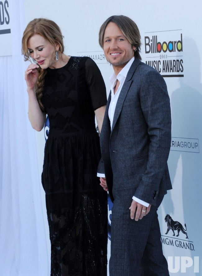 Nicole Kidman and Keith Urban arrive at the 2011 Billlboard Music Awards in Las Vegas