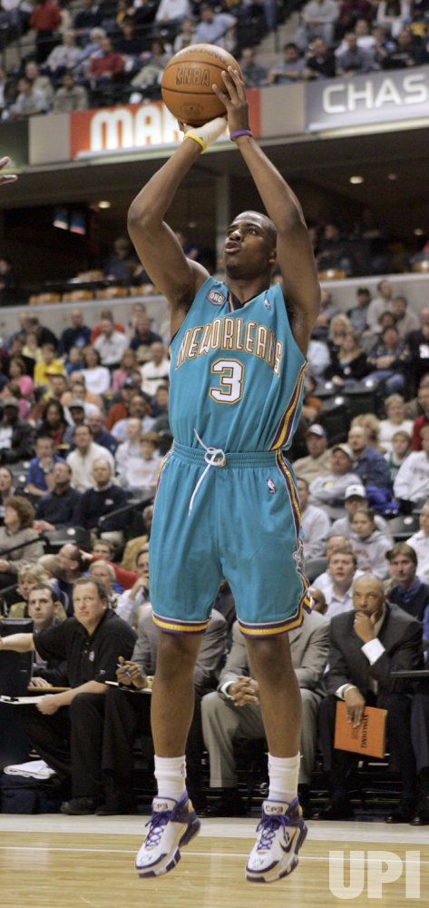 NEW ORLEANS/OKLAHOMA CITY HORNETS vs INDIANA PACERS