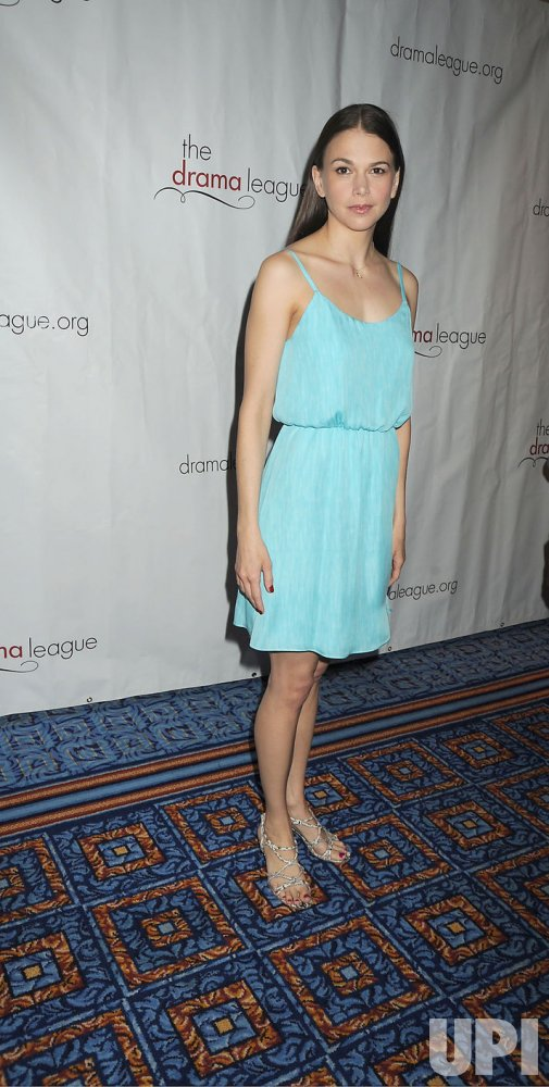 Sutton Foster arrives for the Drama League Awards Ceremony and Luncheon