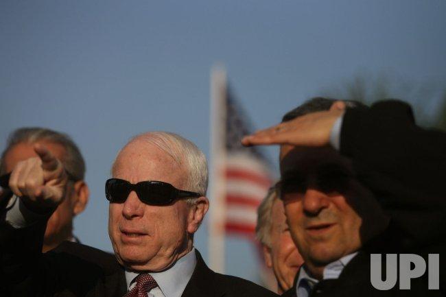 Sen. John McCain visits Jerusalem