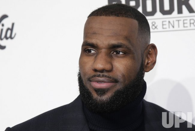 LeBron James arrives at SI Sportsperson of the Year