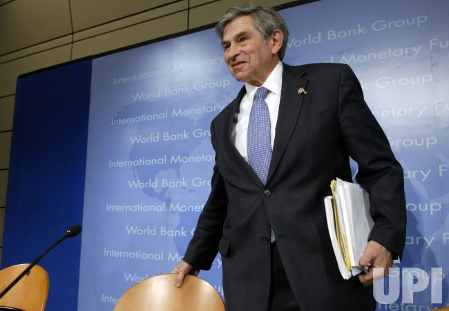 WOLFOWITZ SPEAKS AT IMF/WORLD BANK MEETINGS IN WASHINGTON