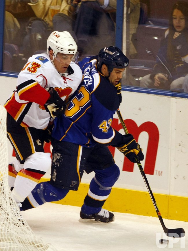 Calgary Flames vs St. Louis Blues