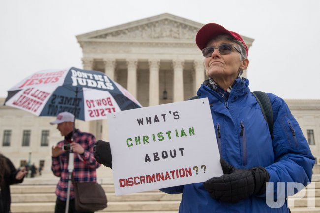 Supreme Court Demonstrations over Masterpiece Cakeshop Case