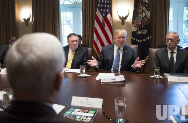 President Trump holds a Cabinet Meeting at the White House