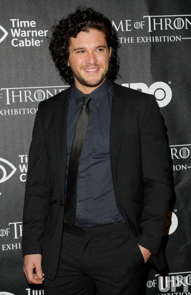 """Kit Harington attends opening of """"Game of Thrones"""" exhibit in New York"""