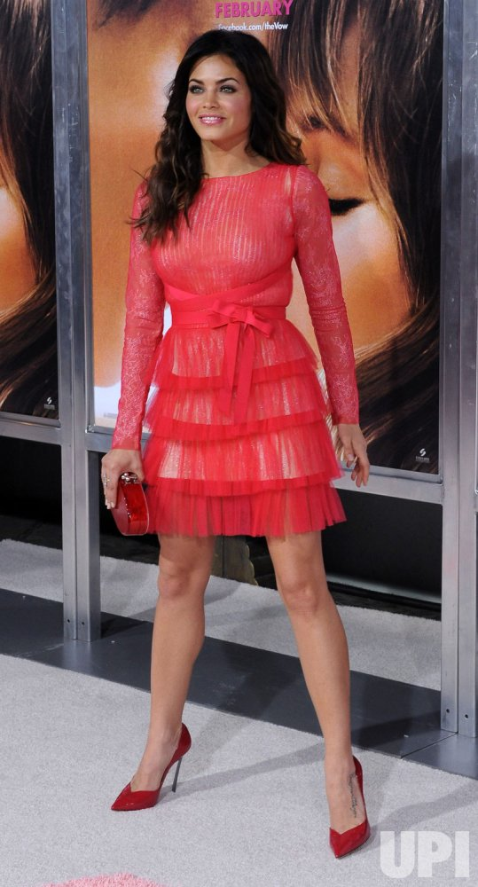 "Jenna Dewan attends ""The Vow"" premiere in Los Angeles"