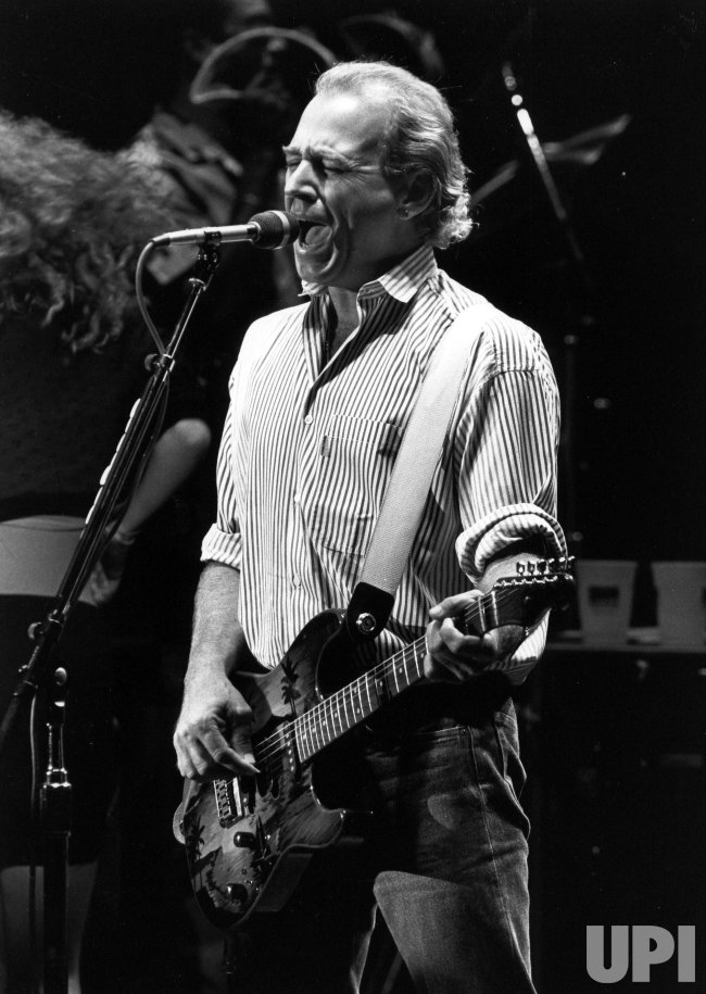 Jimmy Buffett during his performance at the Concord Pavilion 8/10/1988.