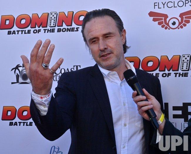 """David Arquette Attends the """"Domino: Battle of the Bones"""" Premiere in LA"""