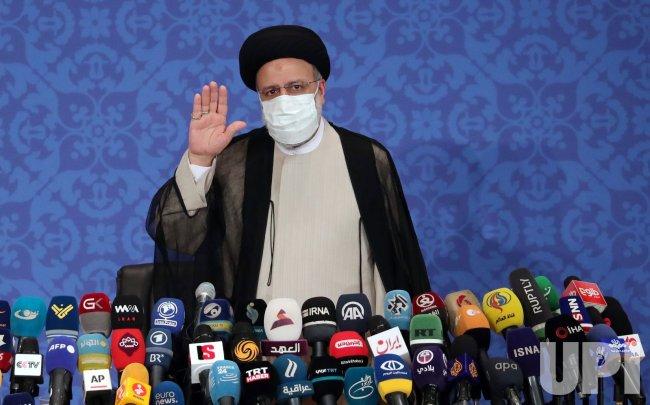 Iranian President-elect Ebrahim Raisi press conference
