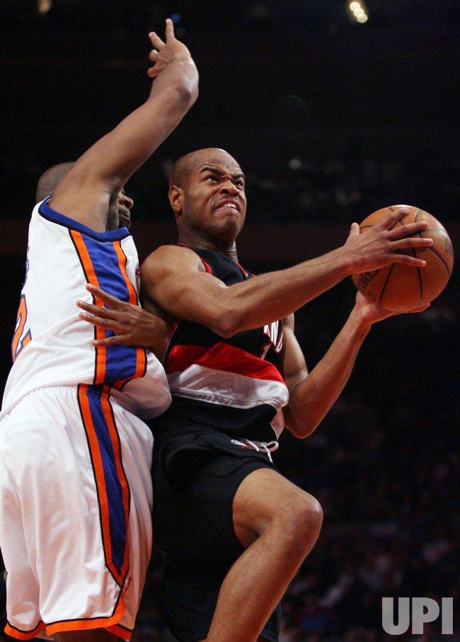 Portland Trail Blazers vs New York Knicks