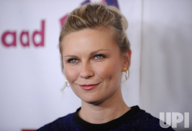 Kirsten Dunst attends the 22nd annual GLAAD Media Awards in Los Angeles