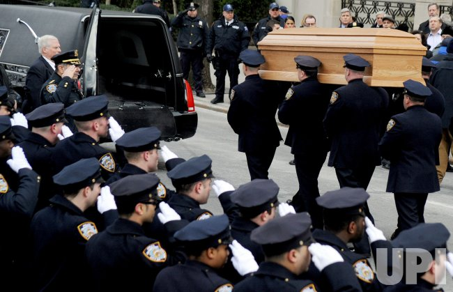 Funeral of New York City Mayor Edward Koch