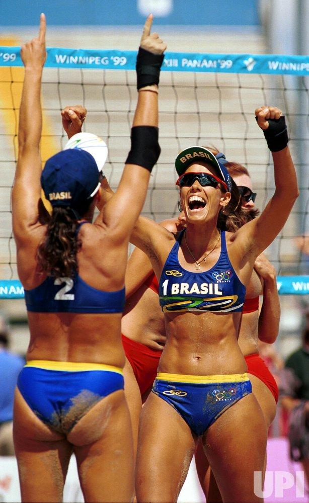 Pan Am Games Women's Beach Volleyball Gold Medal