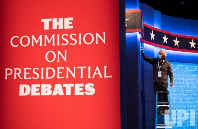 Preparations Underway for the Final Presidential Debate at Belmont