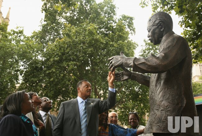 Statue Of Nelson Mandela Unveiled