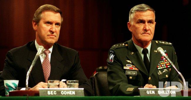 Cohen, Shelton testify