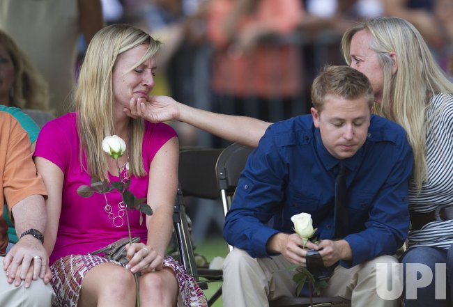 Aurora Holds Vigil for Victims and Families of the Aurora Movie Theaters Shootings