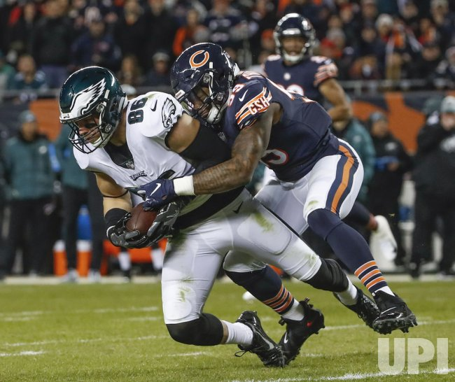 NFC Wild Card Playoff Chicago Bears and Philadelphia Eagles in Chicago