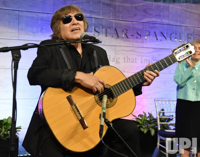 Jose Feliciano Speaks and Sings at Naturalization Ceremony at the Smithsonian in Washington