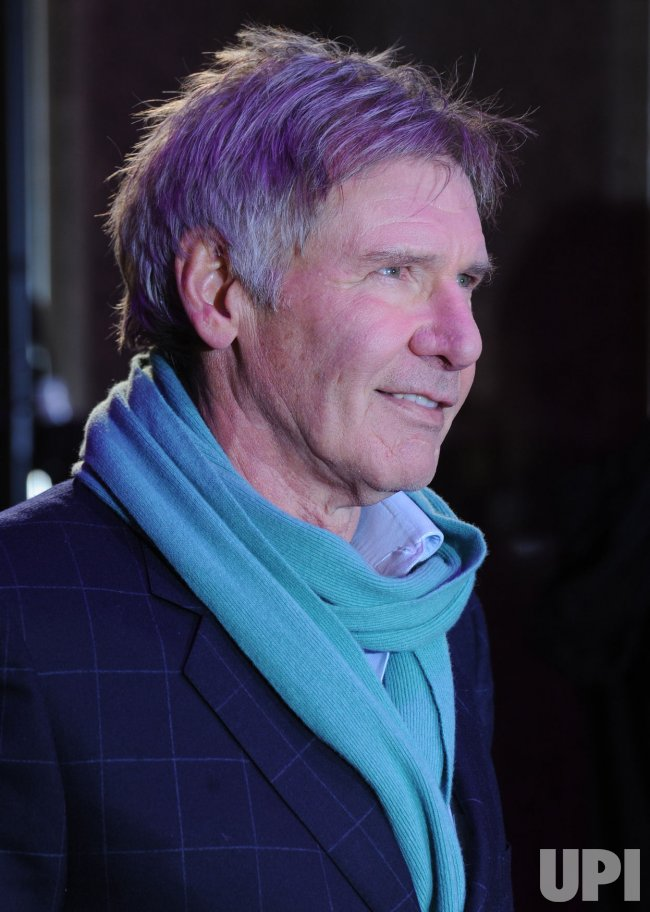 "Harrison Ford attends ""Morning Glory"" premiere"
