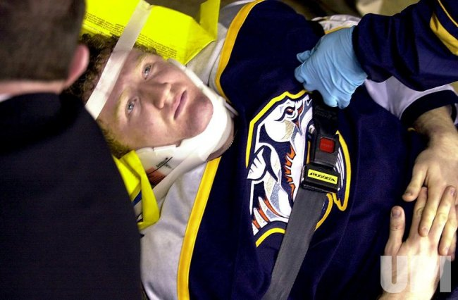 Nashville Predators vs St. Louis Blues NHL hockey