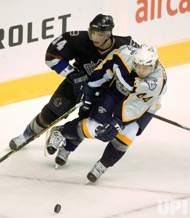 NASHVILLE PREDATORS VS VANCOUVER CANUCKS
