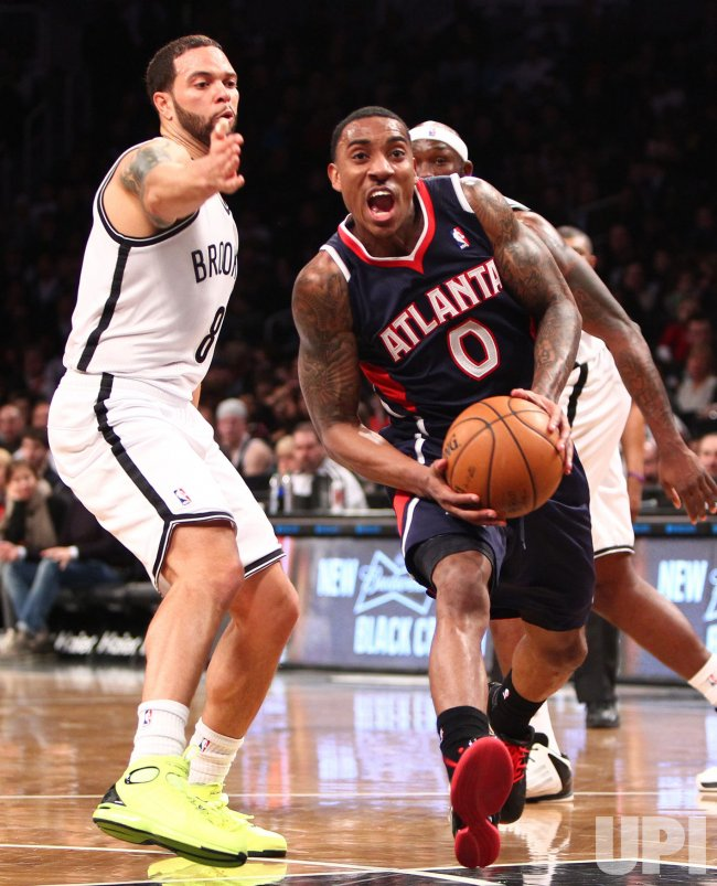 Nets vs Hawks at the Barclays Center