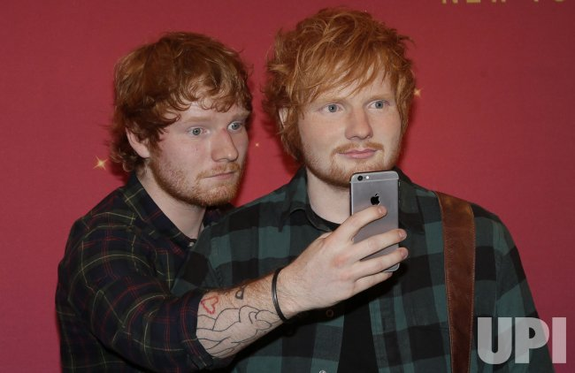 Ed Sheeran unveils wax figure at Madame Tussauds